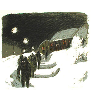 Print in limited edition by Alvar Jansson
