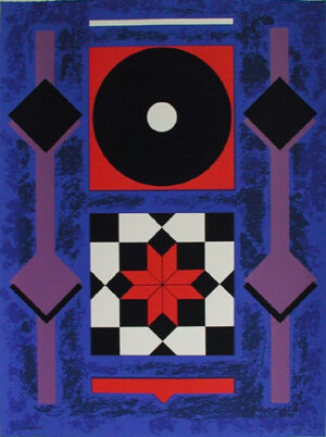 Serigraph Casino made by Kjell Anderson