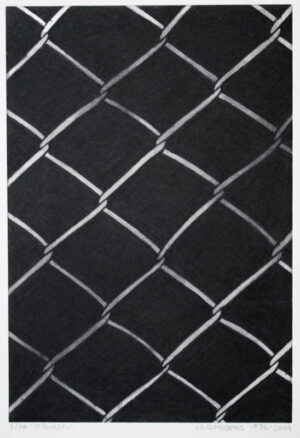 Etching Fence by LG Lundberg