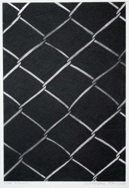 Etching Fence by LG Lundberg