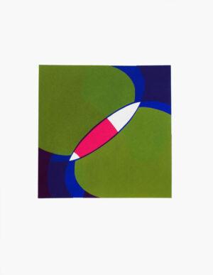 Serigrafi Utan titel 12 av Magdolna Szabó