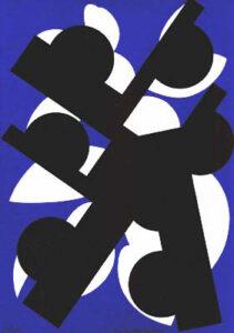 Serigraph Bowler by Kjell Anderson