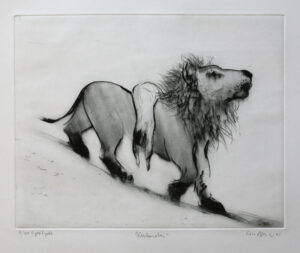 Drypoint The Return by Lisa Andrén.