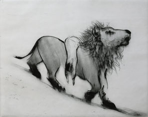 Drypoint The Return by Lisa Andrén