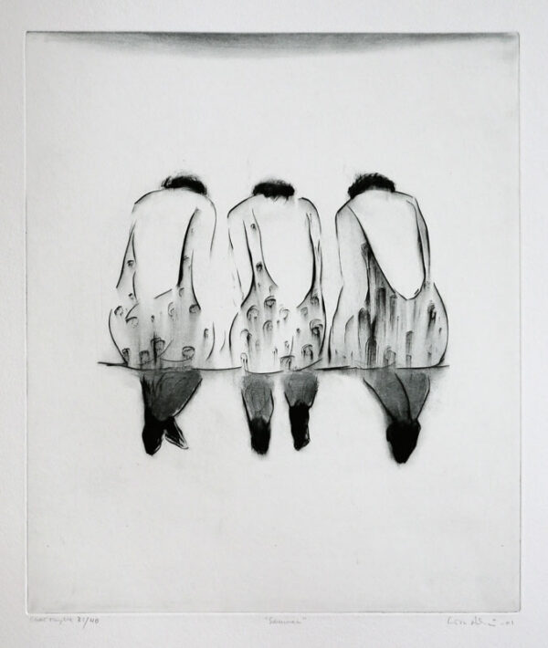 Drypoint Together by Lisa Andrén.