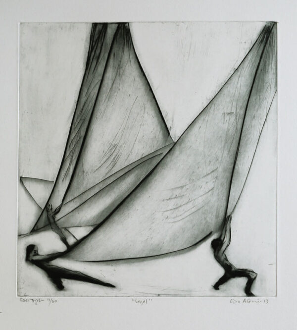 Drypoint Sail by Lisa Andrén.
