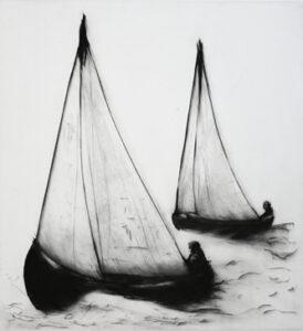Torrnål Seglats för två av Lisa Andrén.