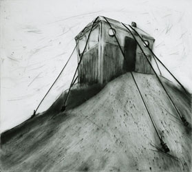 Drypoint Outpost by Lisa Andrén.