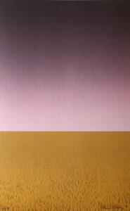 Waiting - Lithograph by Maria Hillfon.