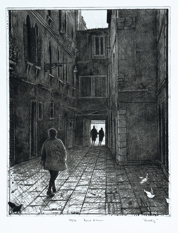 Torrnål Venedig av Mikael Kihlman.