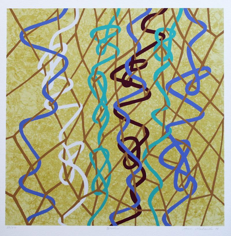 Embroidery - Giclée by Ann Makander.