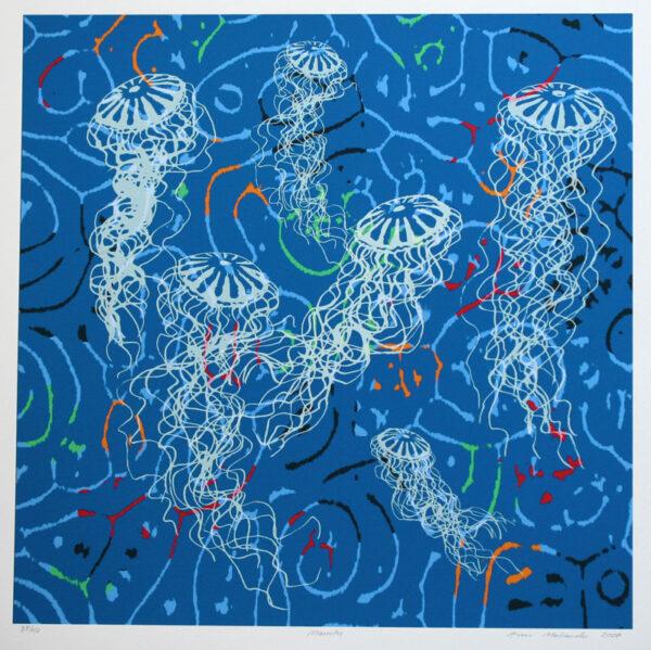 Jellyfish - Giclée by Ann Makander.