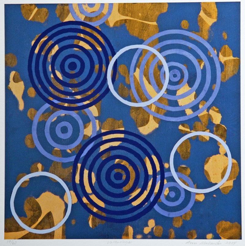 Water Circles - Giclée by Ann Makander.