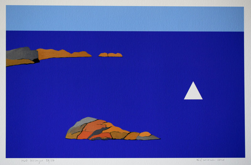 Towards the Blue Mountain - Giclée by KG Nilson