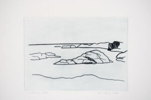 West Coast - Drypoint by KG Nilson