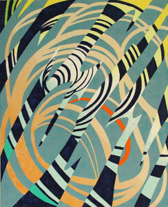 Alternus III - Silk-Screen by Karl Axel Pehrson.n.