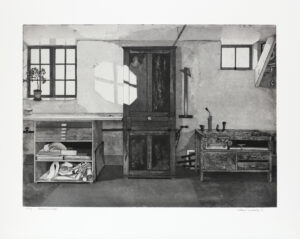 Aquatint Cabinet - Etching by Mikael Wahrby