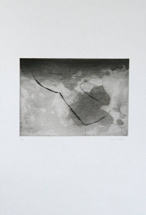 Through - Drypoint by Curt Asker.