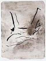 Stätta - Litografi på sten av Curt Asker.