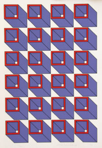 Konstakademien 3 - Silk-Screen by Cajsa Holmstrand.