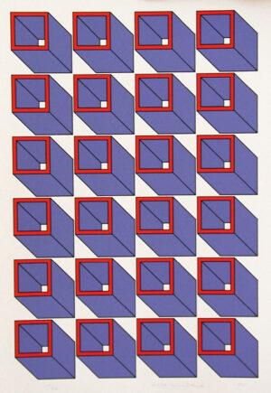 Serigrafi Konstakademien 3 av Cajsa Holmstrand.