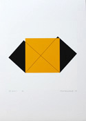 Silk-Screen Pythagoras 20/21 by Cajsa Holmstrand
