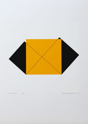 Pythagoras 20/21 - Silk-Screen by Cajsa Holmstrand.