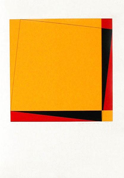 Pythagoras (1) - Silk-Screen by Cajsa Holmstrand.