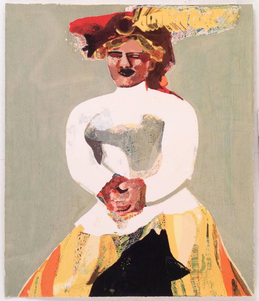 Serigrafi Vierge Moderne av Cecilia Sikström.