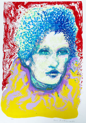 Paula - Silk-Screen by Eva Zettervall.