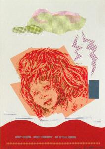 Unnatural Disaster - Silk-Screen by Eva Zettervall.