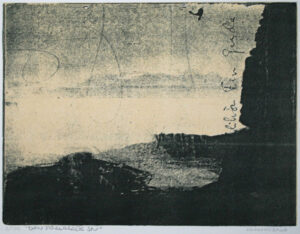The Lost Island - Lithograph by Lundberg.