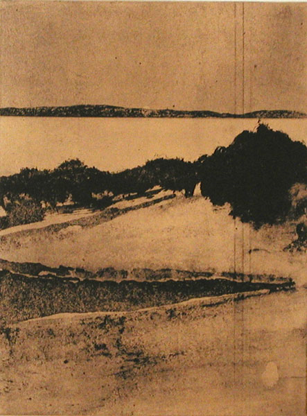 Far out III - Etching by LG Lundberg.
