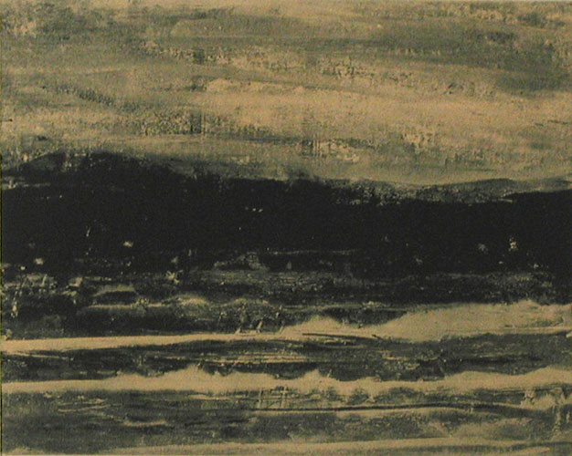 Far out XIII - Etching by LG Lundberg.
