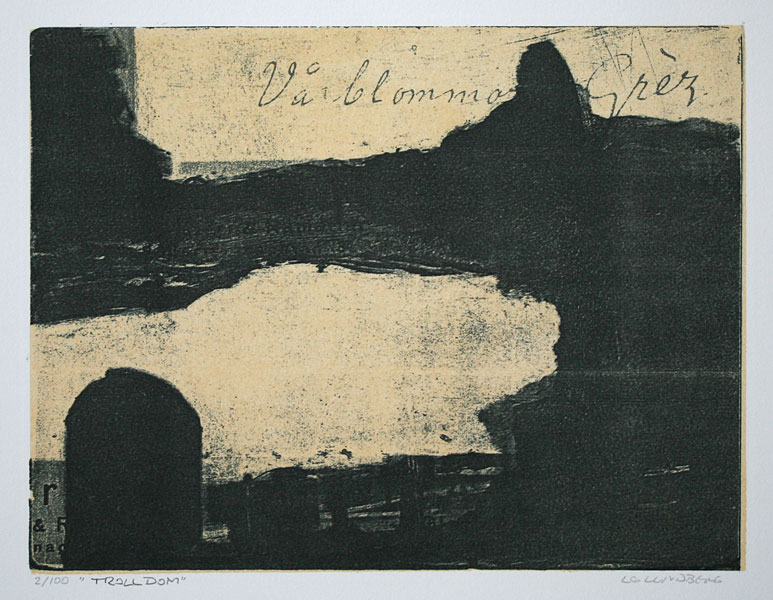 Witchcraft - Lithograph by LG Lundberg.