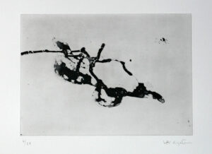 Game 4 - Etching by Lotti Ringström.