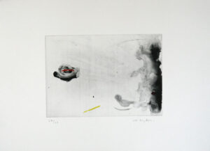 Region - Etching by Lotti Ringström.