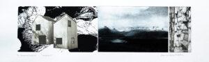 Fp-gravyr/Serigrafi Islandica 2 av Catharina Warme Hellström.
