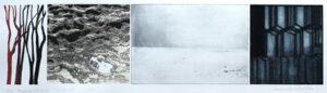 p-gravyr/Serigrafi Islandica 3 av Catharina Warme Hellström.