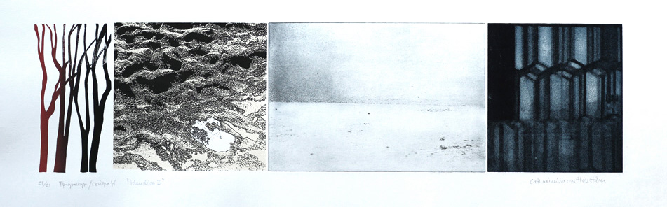 Islandica 3 - Photogravure/Serigraph by Catharina Warme Hellström.
