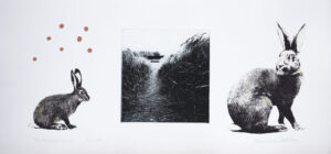 Come on - Photogravure/Serigraph by Catharina Warme Hellström.