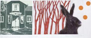 Summer Memories - Photogravure/Serigraph/Acrylic by Catharina Warme Hellström.