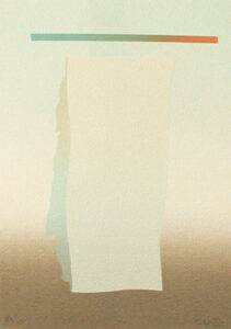 Serigrafi Darius av Curt Hillfon.