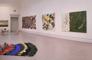 Olle Kåks utställning på Konstakademien 2002 i Stockholm.