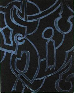 Färgetsning Ornament av Nils G Stenqvist.