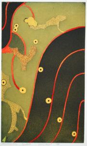 Parallel - Etching/Aquarelle by Nils G Stenqvist.