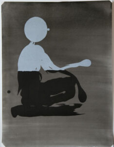 Massing Character - Lithograph by Dan Wirén.