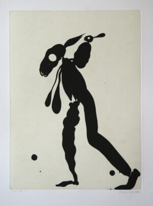 Great Trotter - Aquatint Etching by Dan Wirén.