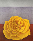 The Golden Rose - Lithograph by Maria Hillfon.