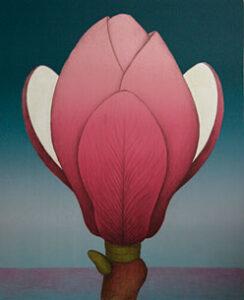 Litografi Födelsen - Magnolia av Maria Hillfon.